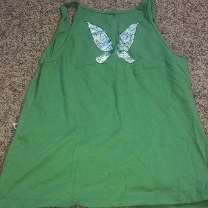 Adorkable tank top tinker bell